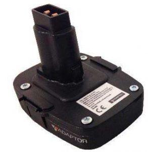 ADAPTOR batteri-adaptor til DeWALT